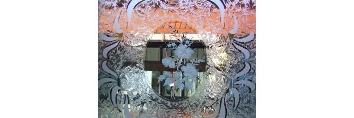 Eisblumenglas